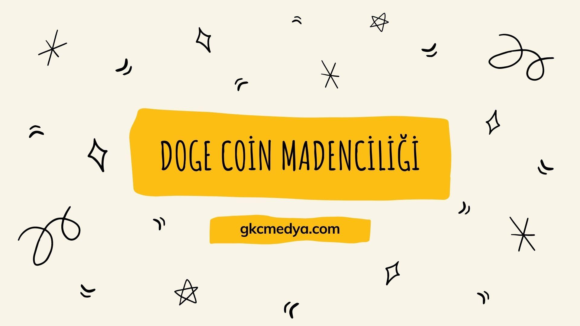 Doge Coin, Doge Coin Madenciliği